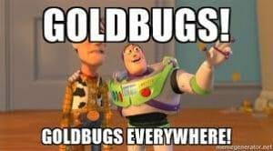 gold bug meme