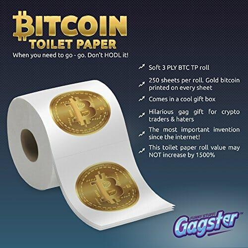 Bitcoin toilet paper