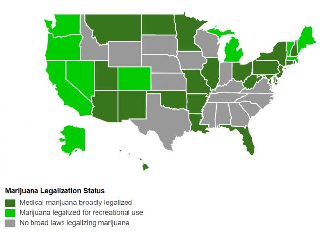 US marijuana legalization