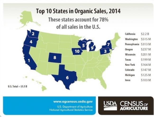 US Organic Market