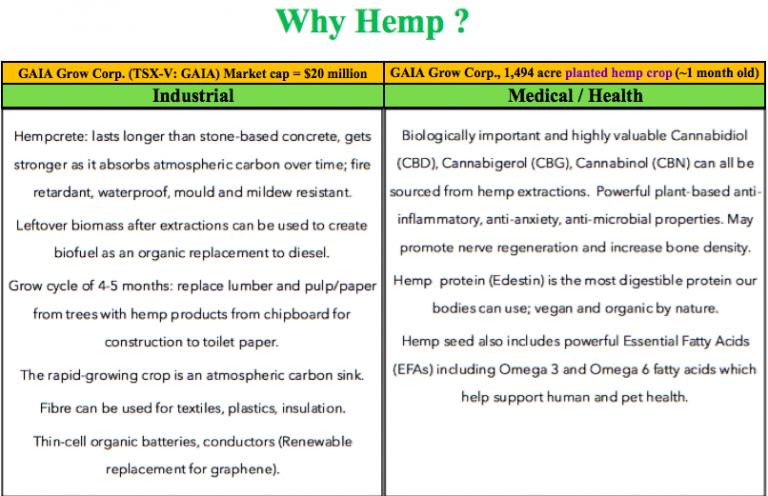 Hemp, medical, CBD, Gaia