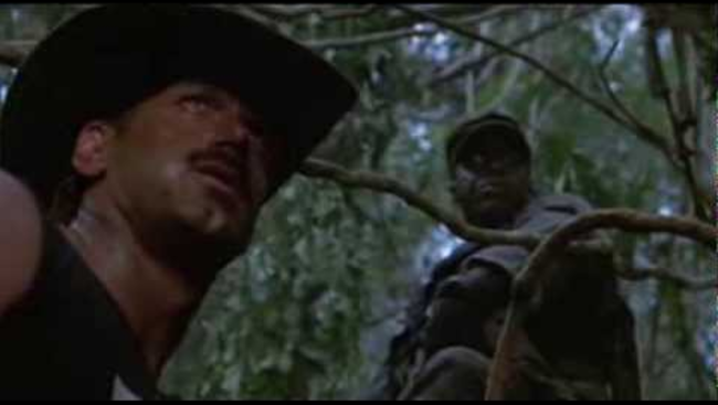 Jesse Ventura and Bill Duke image extracted from YouTube
