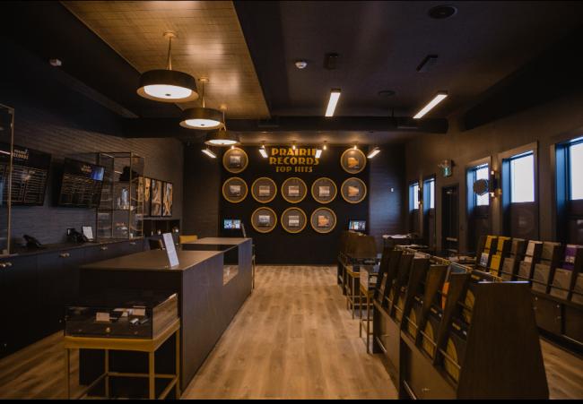 Prairie Records interior