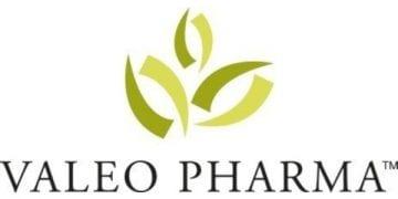 Logo: Valeo Pharma Inc. (CNW Group/Valeo Pharma inc.)
