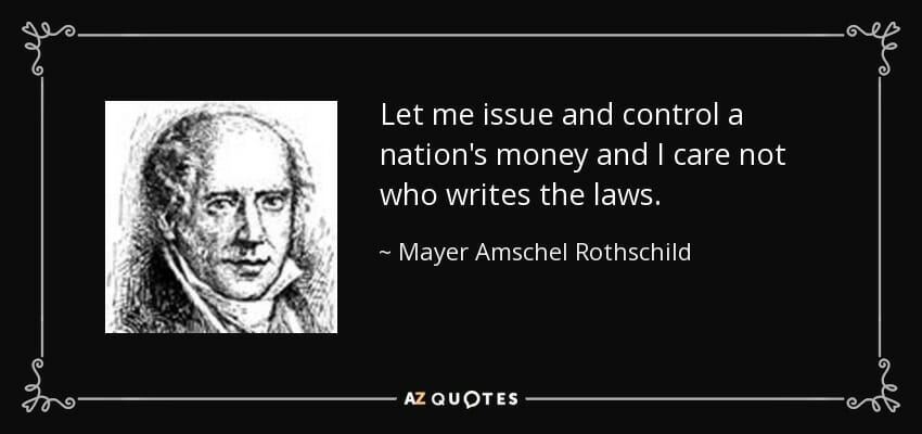 QUOTES BY MAYER AMSCHEL ROTHSCHILD | A-Z Quotes