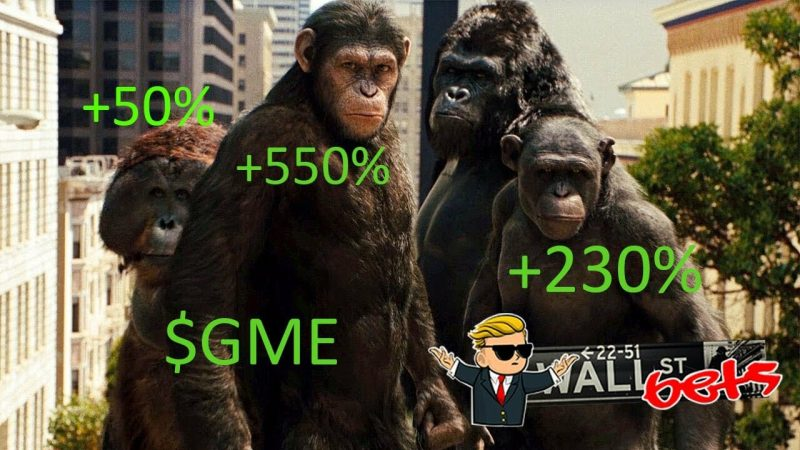 GME To The Moon | Planet of the Apes | r/wallstreetbets tribute - YouTube